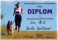 Hostěnický běh se psem - Diplom pro každého účastníka